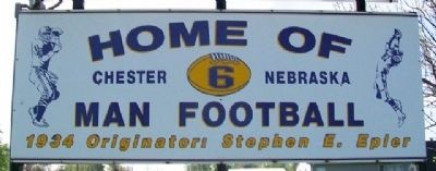 Home of 6 Man Football Marker image. Click for full size.