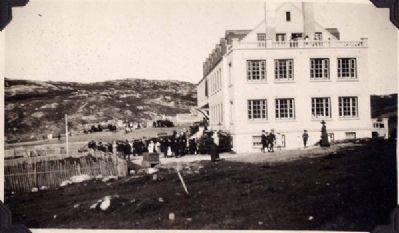 <i>Notre Dame Bay Memorial Hospital, Twillingate</i> image. Click for full size.