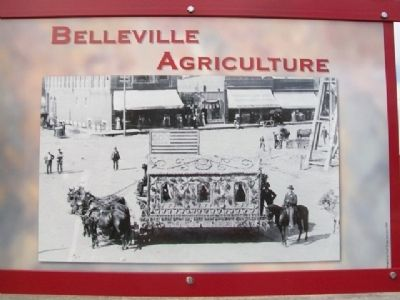 Belleville Agriculture Marker (Side B) image, Touch for more information