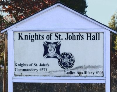 Knights of St. John's Hall image. Click for full size.