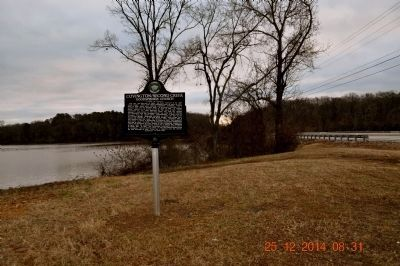 Covington/Second Creek / Wheeler Dam/Lake marker image. Click for full size.