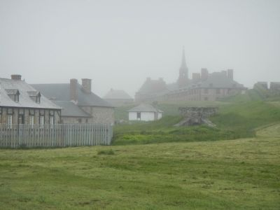 Fortress of Louisbourg image. Click for full size.