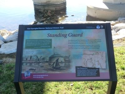 Standing Guard Marker image. Click for full size.