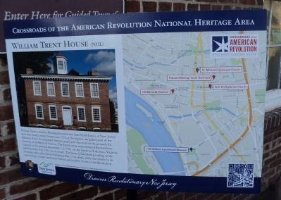 William Trent House (NHL) Marker image. Click for full size.