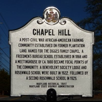 Chapel Hill Marker image. Click for full size.