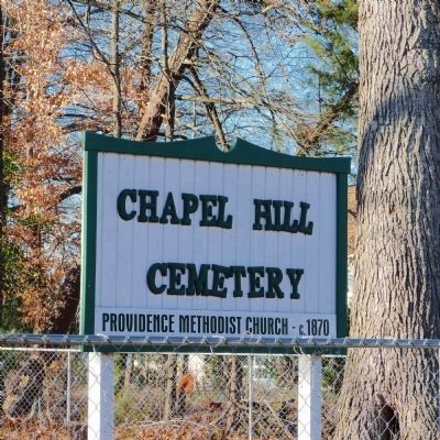 Chapel Hill Cemetery<br>Across from 12008 Old Fort Road image. Click for full size.