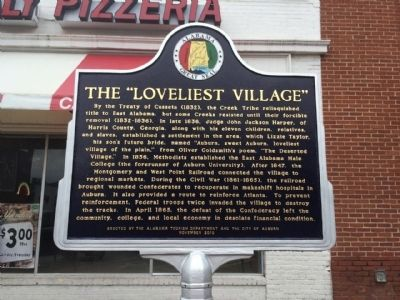 "The ""Loveliest Village"" Marker image. Click for full size."