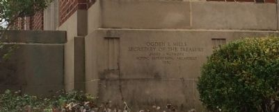 Former US Post Office cornerstone. image. Click for full size.