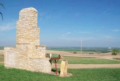 Pike's Route Monument image. Click for full size.