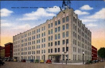 <i>Ohio Oil Company Building, Findlay, Ohio</i> image. Click for full size.