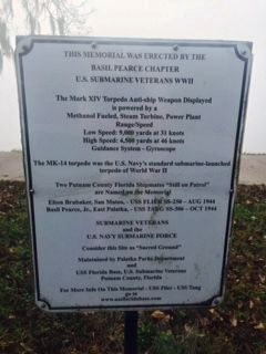 Additional sign @ USS Tang Memorial Marker image. Click for full size.