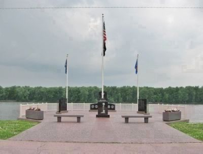 The Cassville Veterans Memorial image. Click for full size.