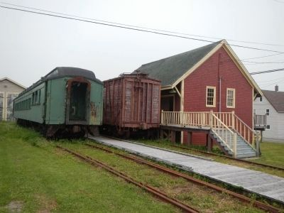 Sydney and Louisbourg Railway Museum image. Click for full size.