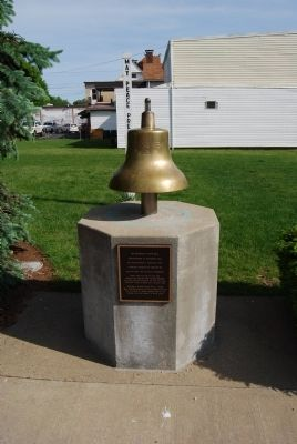 USS Mars AFS-1 Ships Bell Marker image. Click for full size.