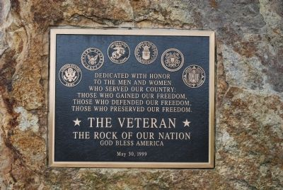 Cranberry Township Veterans Memorial Marker image. Click for full size.