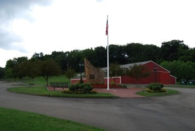 Cranberry Township Veterans Memorial image. Click for full size.