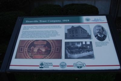 Titusville Trust Company, 1919 Marker image. Click for full size.