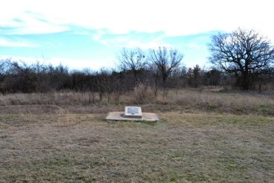 Site of Cottonwood Springs Marker image. Click for full size.
