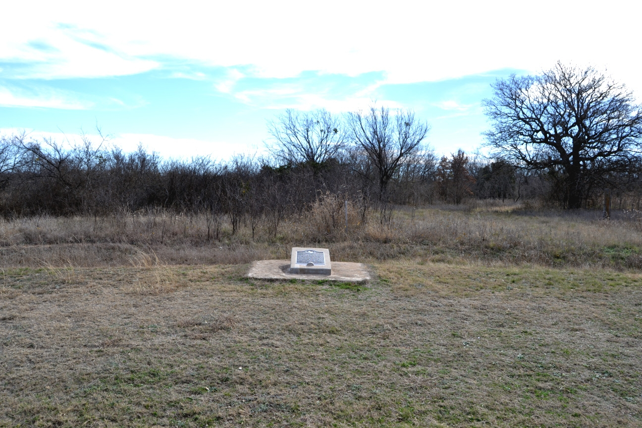 Site of Cottonwood Springs Marker