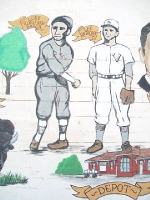 History of LeRoy, Kansas Mural image. Click for full size.