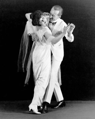 Dancers Vernon and Irene Castle image. Click for full size.