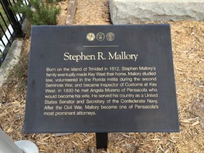 Stephen R. Mallory Marker image. Click for full size.