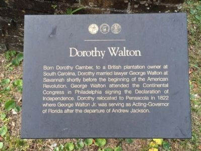 Dorothy Walton Marker image. Click for full size.