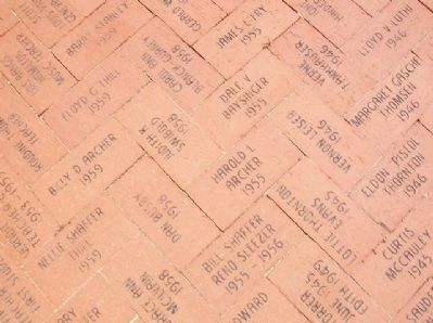 Lamont School Alumni Pavers image. Click for full size.