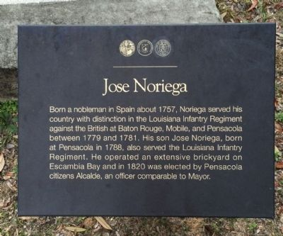 Jose Noriega Marker image. Click for full size.