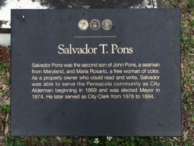 Salvador T. Pons Marker image. Click for full size.