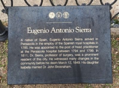 Eugenio Antonio Sierra Marker image. Click for full size.