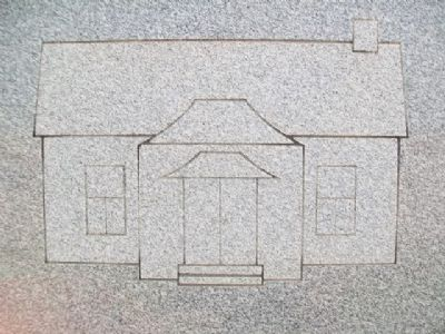 Bethel Church Engraving on Marker image. Click for full size.