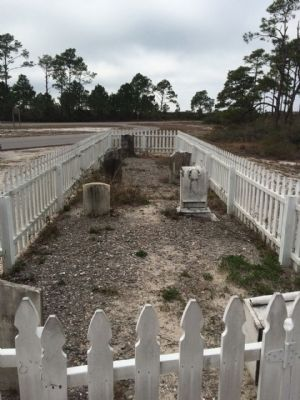 Chasefield Plantation Cemetery image. Click for full size.