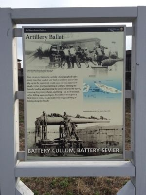 Battery Cullum, Battery Sevier Marker image. Click for full size.