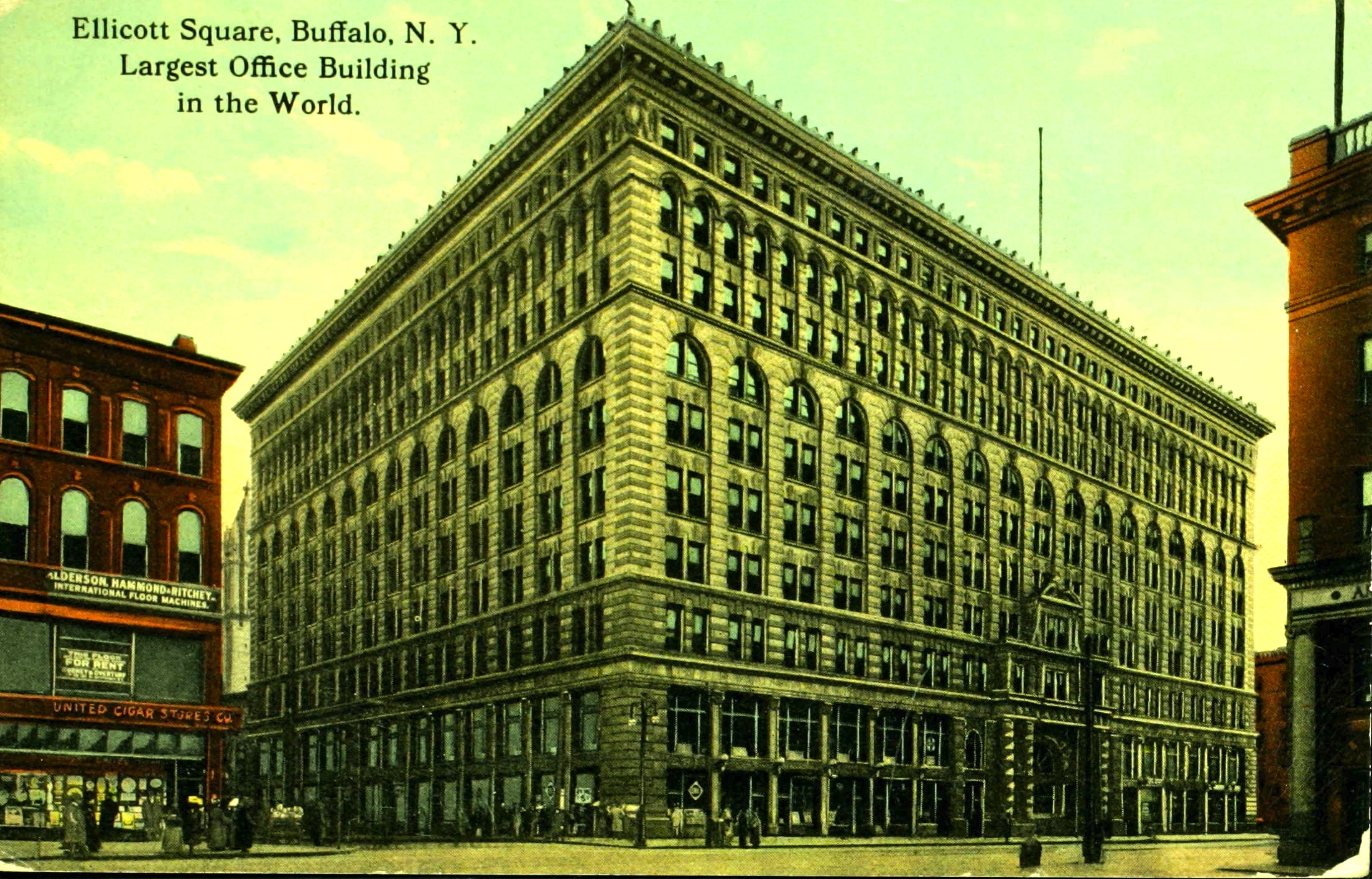 <i>Ellicott Square, Buffalo, N.Y. Largest Office Building in the World</i>