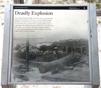 Deadly Explosion Marker image. Click for full size.