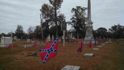 Confederate Memorial Marker, Monument & Graves image. Click for full size.