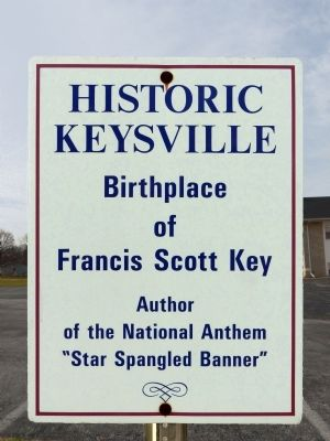 Keysville Sign image. Click for full size.