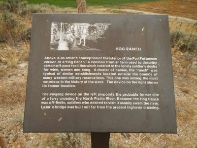 Hog Ranch Marker image. Click for full size.