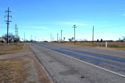 View to North Towards Intersection of State Highway 6 and Farm to Market Road 576 image. Click for full size.