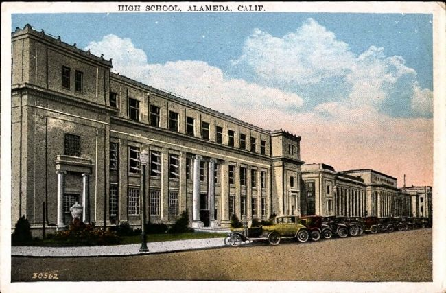<i> High School, Alameda, Calif.</i> image. Click for full size.