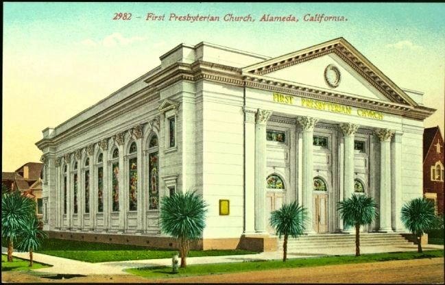 <i>First Presbyterian Church, Alameda, California.</i> image. Click for full size.