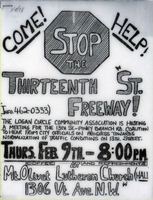 Stop the 13th Street Freeway! image. Click for full size.