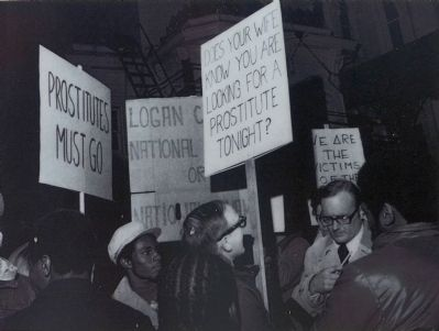 Picketing Prostitution image. Click for full size.