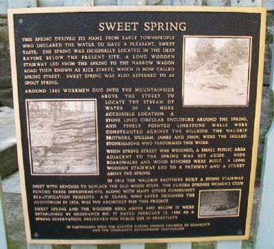 Sweet Spring Marker image. Click for full size.
