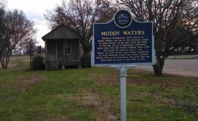 Muddy Waters Marker image. Click for full size.