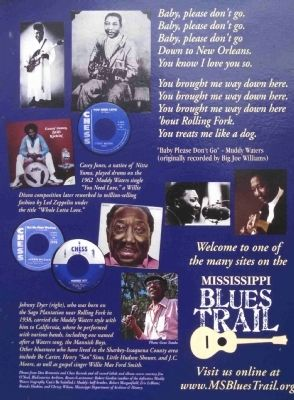 Muddy Waters Marker (Back) image. Click for full size.