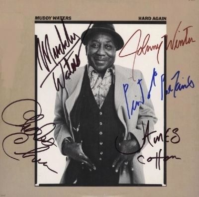 Autographed Muddy Waters LP image. Click for full size.