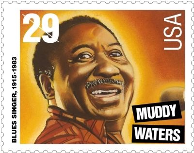 Muddy Waters Stamp image. Click for full size.