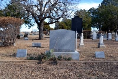 Grave Sites of Granville and Rennie Waters image. Click for full size.